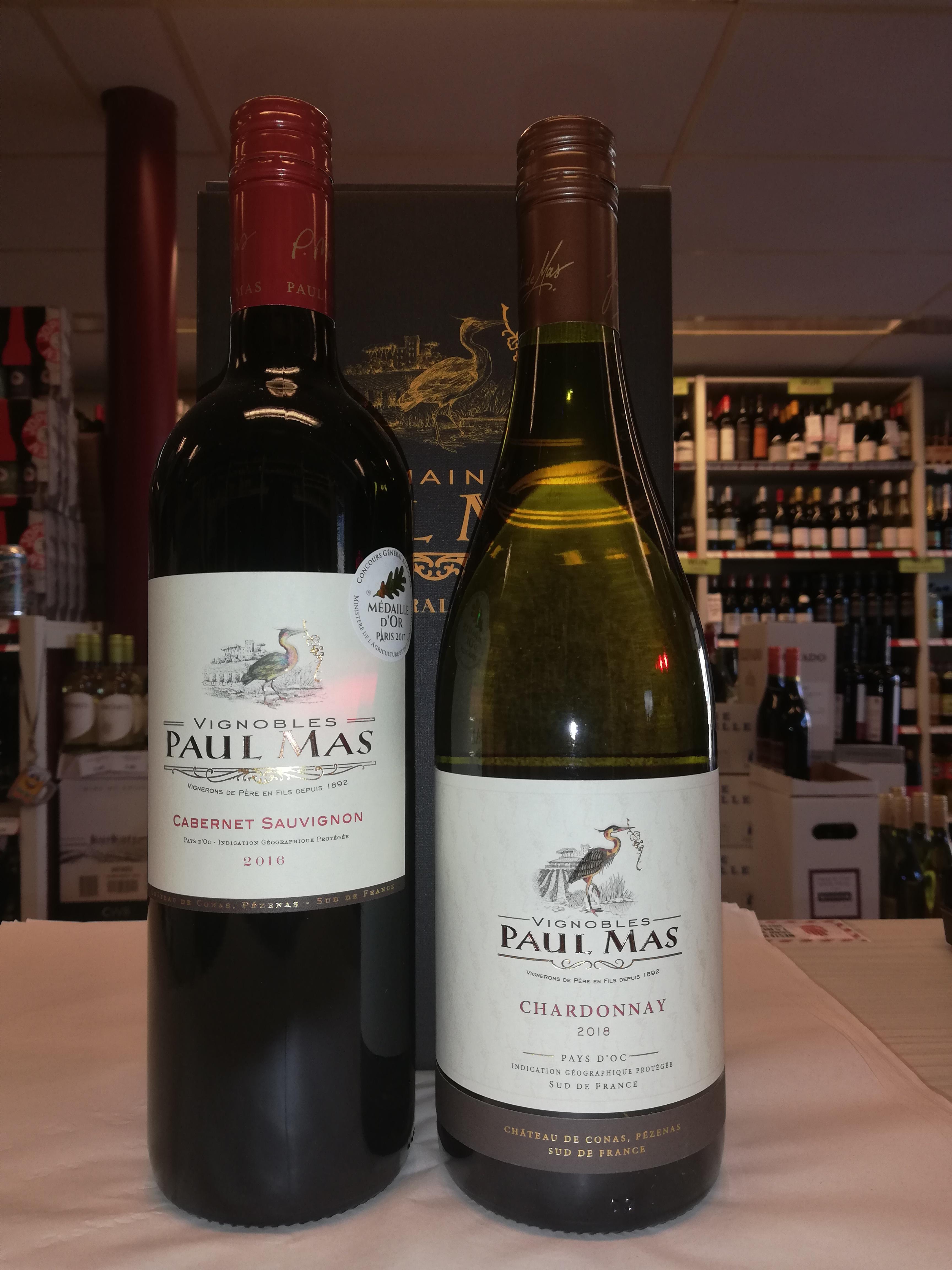 Paul Mas Geschenkdoos 2 flessen