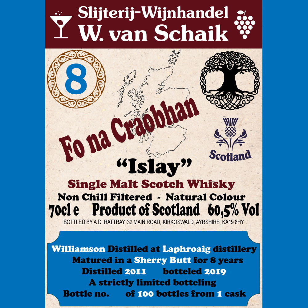 Fo na Craobhan Williamson L.E. 8Y 70cl