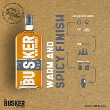 The Busker Single Malt Whiskey 70cl