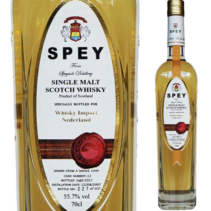 Speyside Spey Single Cask Netherlands 70cl