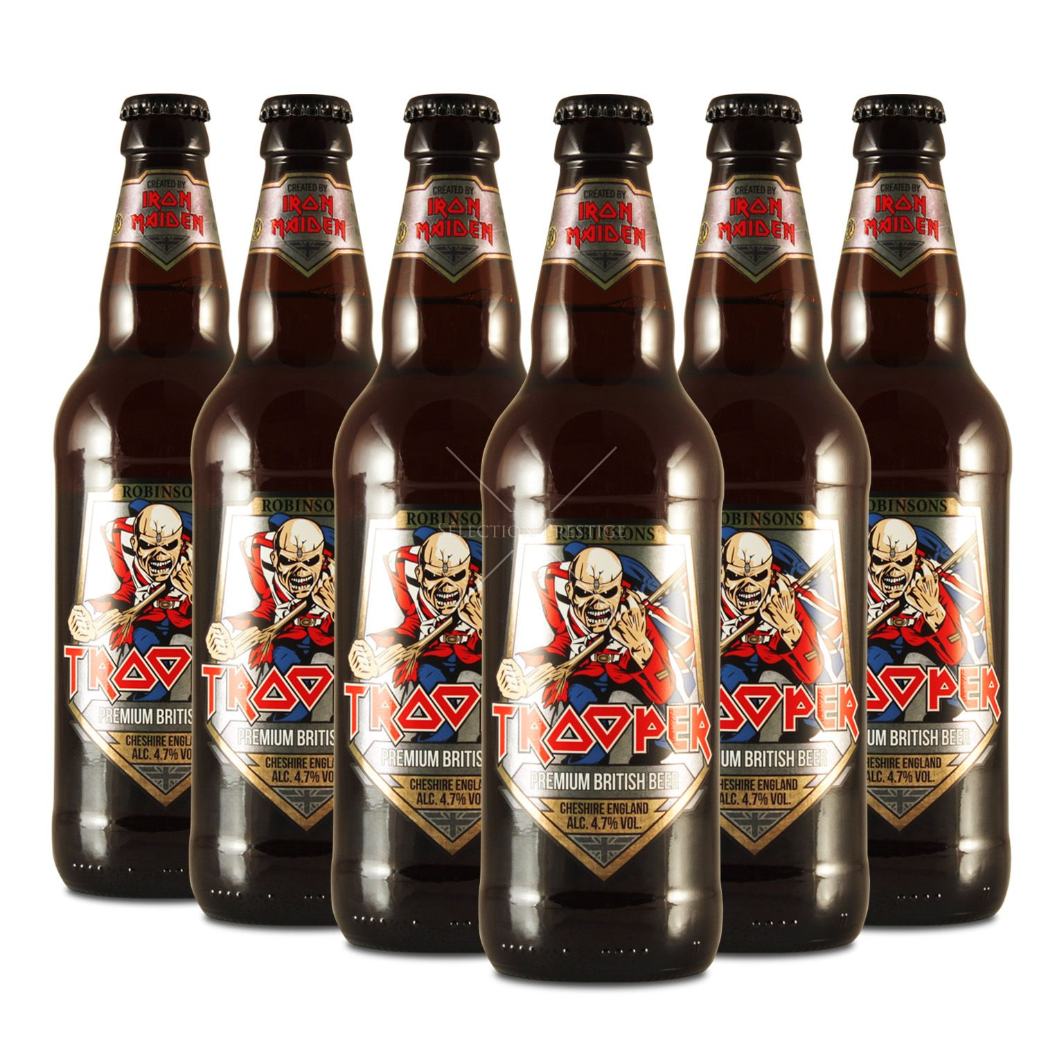 Iron Maiden Trooper Premium British Beer 50cl