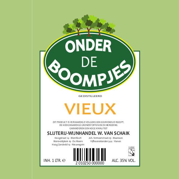 Onder de Boompjes Vieux 100cl
