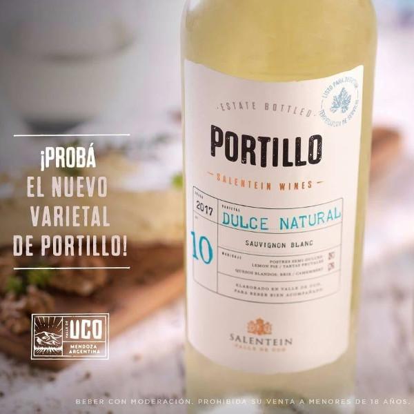 Portillo Sauvignon Blanc Dulce 75cl